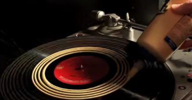 He Smeared Wood Glue All Over A Record...The Reason Is Genius Though!