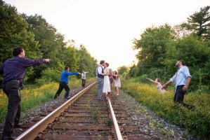 This Unique Engagement Photo Shoot is To Die For