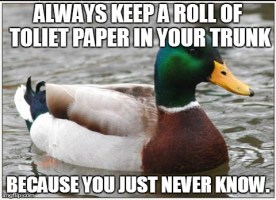 Advice Mallard on Road Trips...