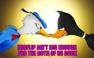 Daffy Vs. Donald for Cartoon Week...A Juicydeath1025 event.