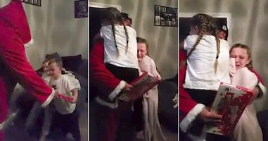 She Knew Something Was Off About The Santa In Their House...Then She Figured It Out