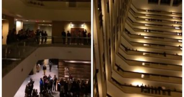 These People Were Staying At A Hotel When They Heard The Most Beautiful Sound