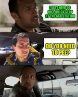 The Rock Driving Bear Grylls