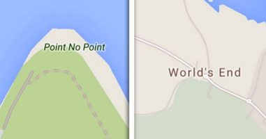 21 Places With Terribly Unfortunate Names Found On Google Maps