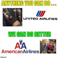 Customer Service Awards for flight providers in the USA gonna be pretty tight this year :p