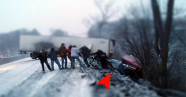 A Truck Crashed, And These People Didn't Wait For Rescue Teams -- They Became Heroes