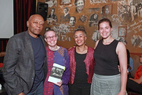 Emilye Crosby, Judy Richardson, and Wesley Hogan at book launch. Photo by Rick Reinhard. Click image for more.