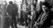 SNCC members singing in Atlanta office