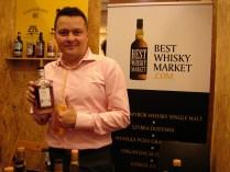 Daniel i whisky która najbardziej smakowała mi tego dnia - Ardbeg od Malts of Scotland