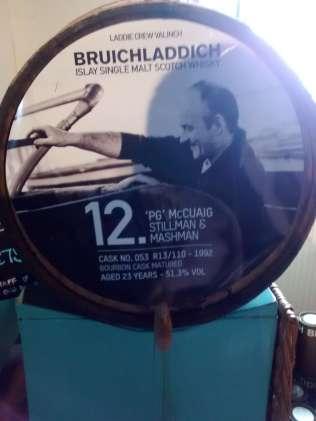 23-letnia Bruichladdich z beczki po bourbonie. Była bardzo dobra.
