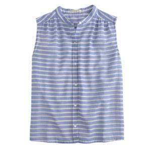 Jcrew striped sleeveless