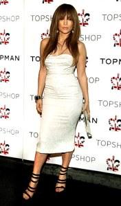 Jennifer Lopez Pear Shape