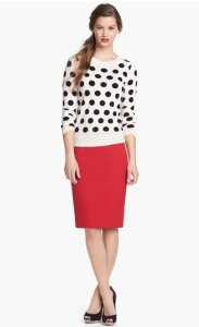 Only Mine Dot Cashmere Sweater NAS