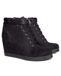 h&m wedge sneakers
