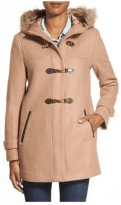 nordstrom cole haan toggle button coat
