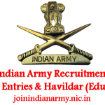 Indian Army Recruitment to begin from 30 Oct, Apply for Officer & Havildar Posts