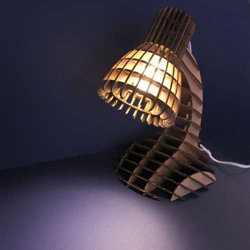 Lampy część 9  - lampa na biurko szkielet