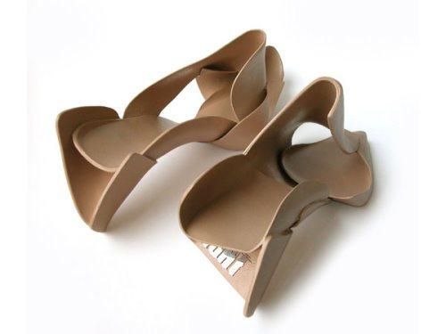 Tekturowe buty