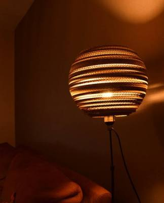 kula 30 - 1 lampa z kartonu