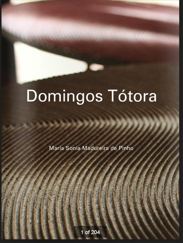 Książka o pracach Dominga Totory