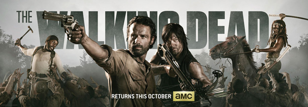 The Walking Dead Seasons 1, 2, 3, & 4