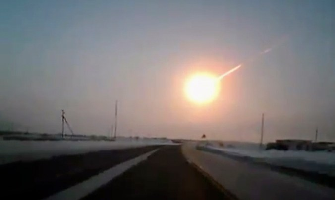 Russian Meteorite in My Zombies Blog