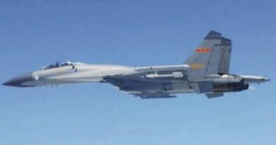 Cazas Chinos J-11 interceptan avión de reconocimiento de EE.UU.
