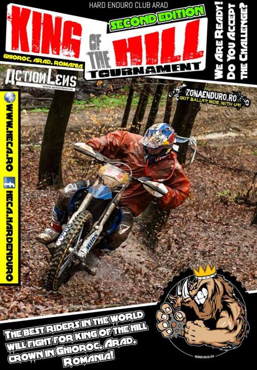 King Of The Hill Hard Enduro Tournament 2014 @ KONAK Pension | Ghioroc | Arad | România