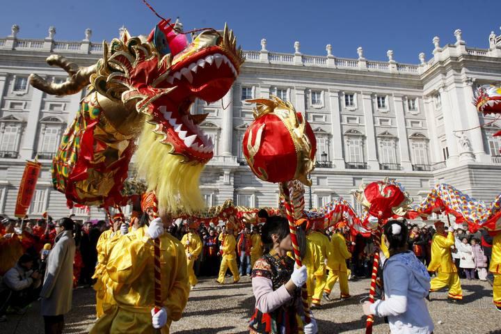 madrid celebra el a o nuevo chino el 28 de enero en usera