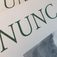 Nunc est legendum