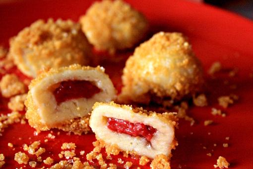 strawberry-dumplings