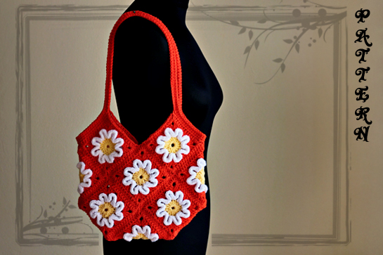 crochet 4D purse pattern by zoomyummy.com