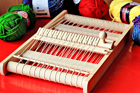 mini weaving loom kit
