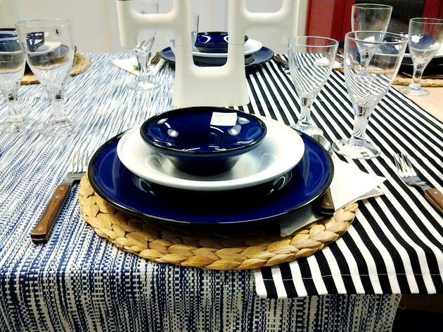 ikea blue plates