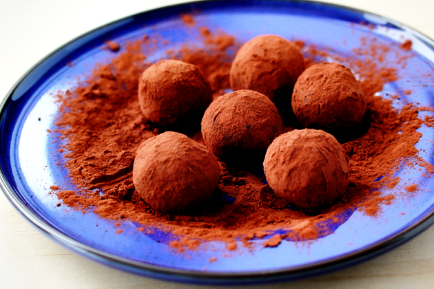 Cookie Crumb Chocolate Truffles Recipe