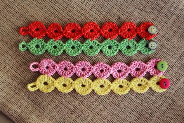 crochet joy joy bracelets