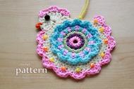 Happy Crochet Chick