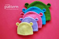 Crochet Hats for Baby's First 3 Years