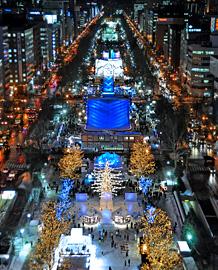 札幌雪祭り-01-大通会場