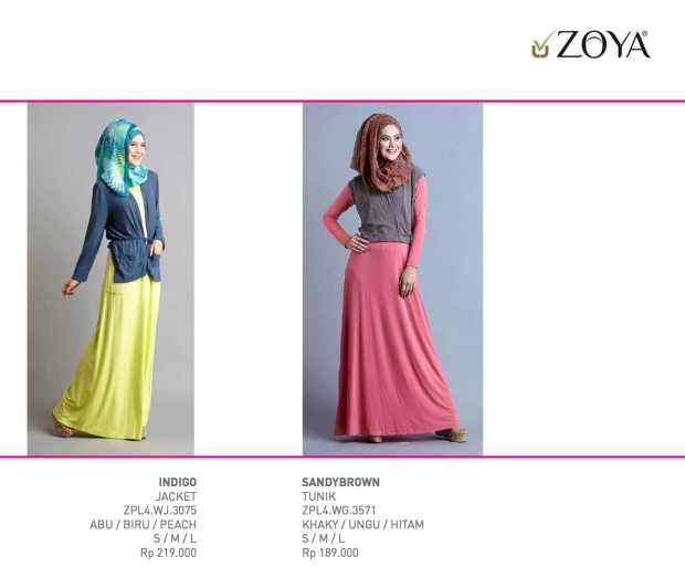 Katalog Harga Zoya Terbaru Periode Mei s.d. Agustus 2013