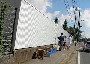 八街中学校プール壁画プロジェクト