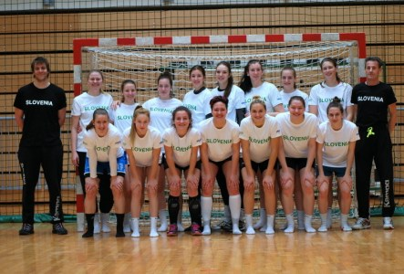 ŽURDovki Anamarija in Alessia trenirali konec tedna v Kopru s kadetsko reprezentanco