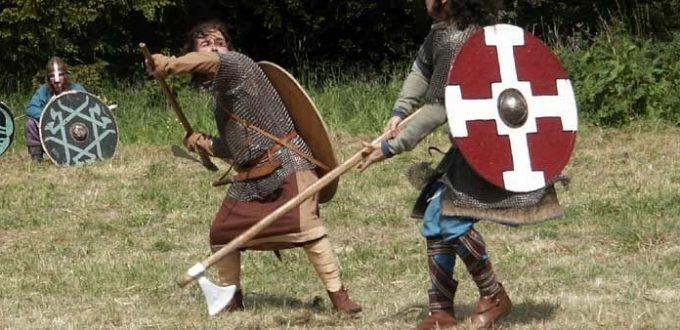 combattimento con ascia danese