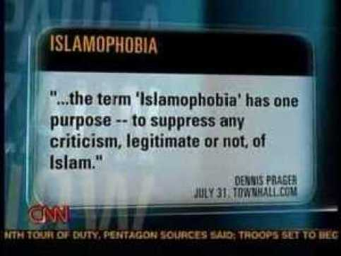 islamophobia, termine usato per sopprimere critiche sull'Islam