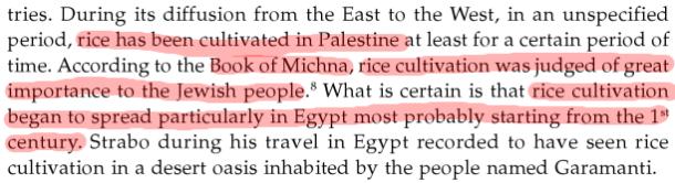 Rice Origin Antiquity and History