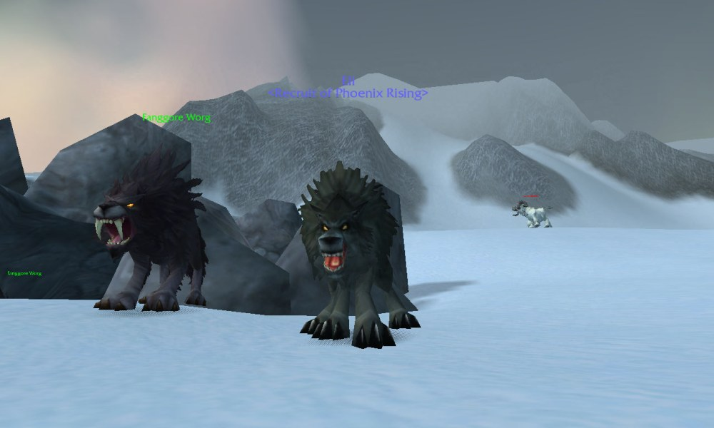 Worgen Wolf Form