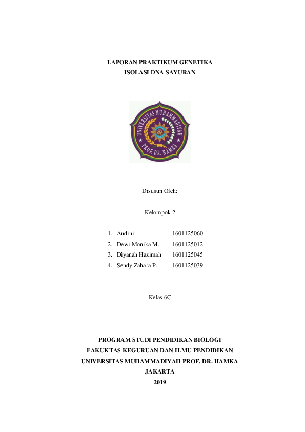 Biologi Genetika Kelas 12