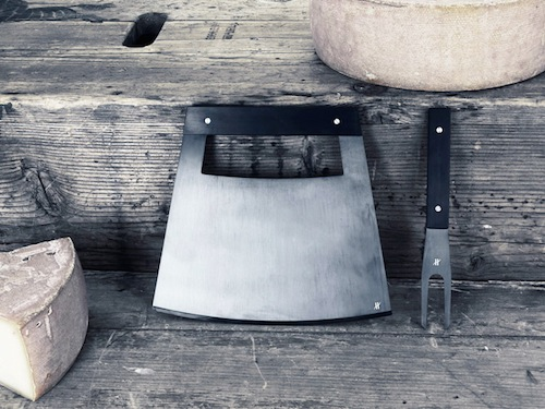 Skim Milk: Cheese Knives by Jacques Elie Ribeyron