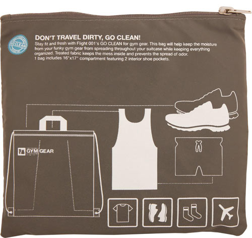 Smart Packing Go Clean Travel Bags from Flight 001