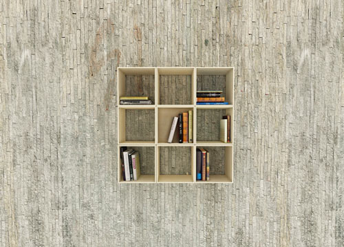 Squaring Movable Bookshelf by Sehoon Lee in home furnishings  Category